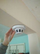 New*AHD Smoke Detector Style Spy CCTV Camera Nanny-Cam 1.3MP for AHD DVR System