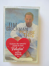"JIM BRICKMAN ""PICTURE THIS""  CASSETTE TAPE - BRAND NEW"