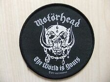 Aufnäher - Patch - Motörhead -  The Wörld Is Yours - Deep Purple - Manowar