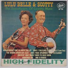 LULU BELLE & SCOTTY: Sweethearts of Country STARDAY Orig LP Rare '62 VG+