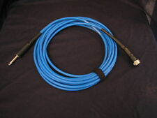 Tone Defender Harp Mic Cable - BLUE  For JT-30 and other Harmonica Microphones