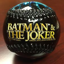 DC Comics Batman vs Joker LImited Embossed New Collectible Souvenir Baseball