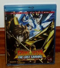 SAINT SEIYA - IL CAVALIERI DELLO DELL' ZODIACO-IL LOST CANVAS 2º-COMBO BLURAY+