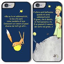 """Cover di coppia iPhone 4, 4S. 5, 5S, 5C, 6, 6 plus """"Piccolo Principe e la volpe"""""""