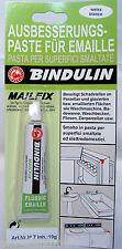 BINDULIN Riparazione Pasta SMALTO PASTA BIANCO 19 g tube-mailfix