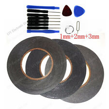 1mm+2mm+3mm+Tools For 3M Sticker Double Sided Tape Adhesive cell phone repair US