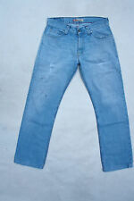 "LEVIS 506 ""STANDARD"" LIGHT BLUE DENIM JEANS STRAIGHT LEG RED TAB W33 L31 FADED"