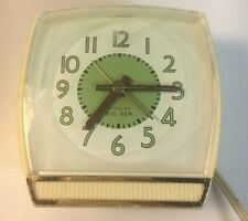 Westclox Big Ben Electric Clock Illuminight Snooze Alarm Vintage Retro Art Deco