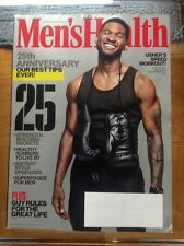 MEN'S HEALTH MAGAZINE November 2013 USHER 25th Anniversary Our Best Tips Ever!