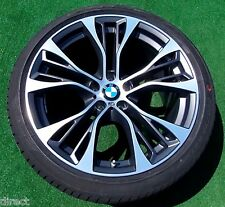 NEW OEM BMW Forged X5 M PERFORMANCE Double Spoke 599M 21 in WHEELS TIRES TPMS X6