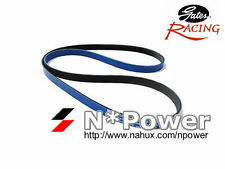 GATES RACING DRIVE FAN BELT FOR NISSSAN KYLINE BNR32 GTR 2.6 RB26DETT 89-94