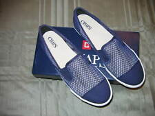 Chaps ( By Ralph Lauren ) Women's Jessica Navy Slip-On Casual Mesh Flats Sz: 9