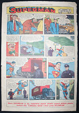 Superman / Mandrake the Magician - Star Weekly Newspaper Clipping - 4/10/1954