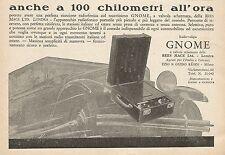 Z0543 Radio valigia a valvole schermate GNOME - Pubblicità del 1930 - Advertis.