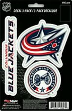 Columbus Blue Jackets Team ProMark Die-Cut Decal Stickers 3Pack