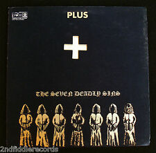 PLUS-THE SEVEN DEADLY SINS-1969 Hard Psych Acid Rock Album-PROBE #CPLP-4513