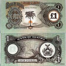 BIAFRA Billet neuf  1 pound pick 5 UNC  NIGERIA
