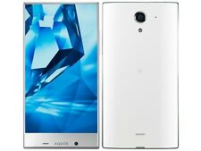SHARP AQUOS CRYSTAL Y 402SH 5.5 INCH ANDROID 4K UNLOCKED SMARTPHONE JAPAN WHITE