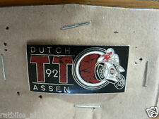 PINS,SPELDJES DUTCH TT ASSEN OR SUPERBIKES MOTO GP 1992 DUTCH TT ASSEN