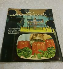 Vintage 1963 Knox On-Camera Recipes - A Completely new Guide to Gel-Cookery