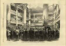 1869 French Elections Third Circumscription Of Paris Salle Moliere