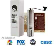 JavaPresse Manual Coffee Grinder | Conical Burr Mill for Precision Brewing