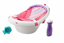 Fisher Price Sling 'n Seat BATH TUB, 4 In 1 Comfortable BABY BATH TUB, Pink