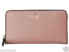 Kate Spade Wallet PWRU1801 Cobble Hill Lacey Makeup Pink Agsbeagle #BagsFever