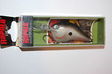 "rapala dt-10 dt10 s silver dives to 10' bass crankbait 2 1/4"" 3/5oz"