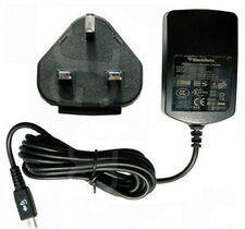 GENUINE BLACKBERRY MAINS CHARGER WALL ADAPTER FOR Z10 Q10 9900 9380 9790 9300