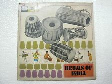 JNAN PRAKASH GHOSH DRUMS INDIA DHOL MRIDANGAM PERCUSSION BReaks LP CLASSICAL VG+
