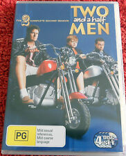 DVD. Two and a half men / the 2 complete second season / (PG)  4 disc set / Reg4