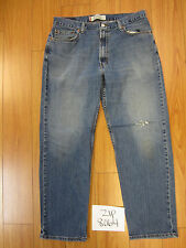 Used 550 relaxed fit levi's jean tag 36x32 meas 33x29.5 zip8064