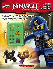 Lego Ninjago Ser.: The Tournament of Elements (2015, Hardcover, Activity Book)