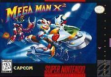Mega Man X2 VGA Q90 ntsc SNES with COA