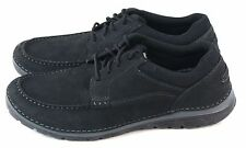 Rockport Mens Zonecush Moc Toe Oxford Comfort Shoes Black Size 10.5 M US