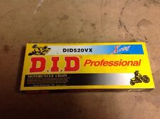 D.I.D 520VX X-ring Professional Motorcycle Chain NEW