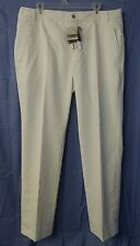 NWT Puma Golf Men's LUX Tech Pants White Size: 36x32 - Rickie Fowler NEW!!!