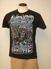 (P671) AVENGED SEVENFOLD Sz Medium Black Short Sleeved Concert T-Shirt NIGHTMARE