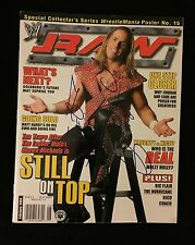 SHAWN MICHAELS SIGNED WWE MAGAZINE