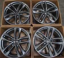 "22"" Audi RS8 RS7 A8 A7 A6 S8 S7 S6 Rims Q5 SQ5 S Line 2017 Machined Wheels"