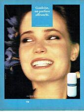 PUBLICITE ADVERTISING 027  1981  Gauloise parfum affranchi de Molyneux 2