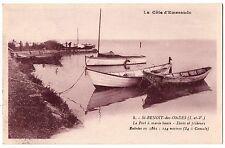 CPA 35 - SAINT BENOIT DES ONDES (Ille et Vilaine) - 8. Le Port à marée haute