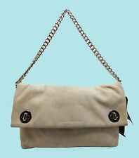 MARC By Marc Jacobs Clutch - Hold Tight Chain Tumbleweed Beige Bag Msrp $328.00