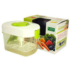 2.2 Liter Japanese Plastic Pickle Maker Press Tsukemono Container/ Made in Japan