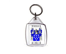 BAILEY (IRISH) COAT OF ARMS KEY RING