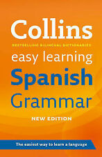 Easy Learning Spanish Grammar by Collins Dictionaries (Paperback, 2011)
