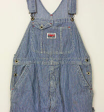 VTG MEN'S HICKORY LADIES DENIM DUNGAREES WOMENS UNISEX OVERSIZED BAGGY FESTIVAL