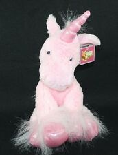 "20"" Pink Plush  Unicorn Stuffed Animal Soft Sparkle Hooves Horn Horse"