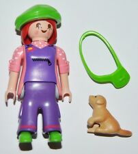 Series 7-M10 Mujer con perrito playmobil serie 5537 little dog and woman